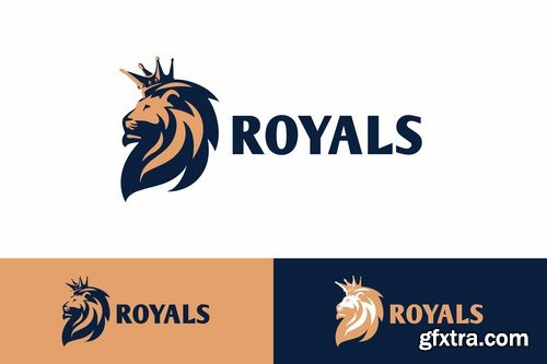 The Royals - Crowned Lion King Logo