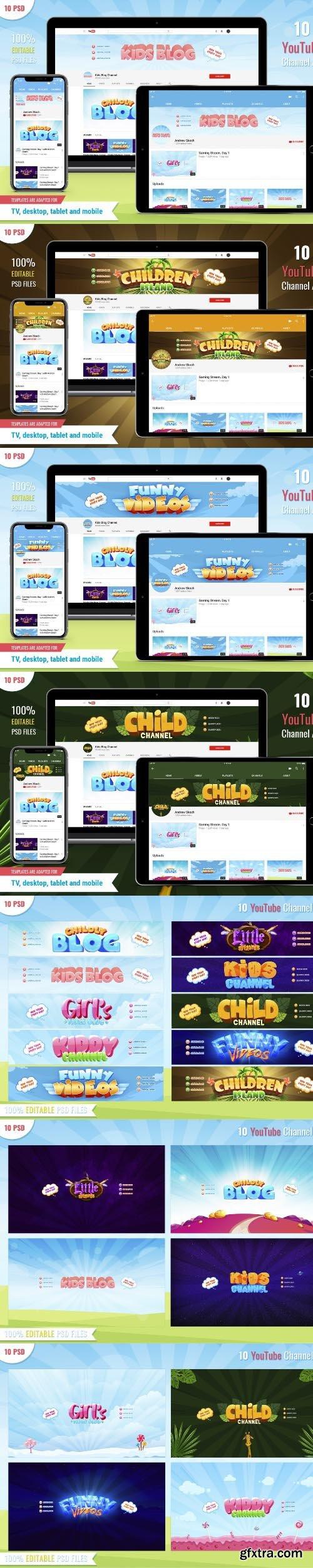 Kid Blog - 10 Youtube Banners