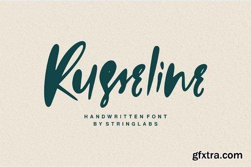 CM - Russeline - Handwritten Font 4107294