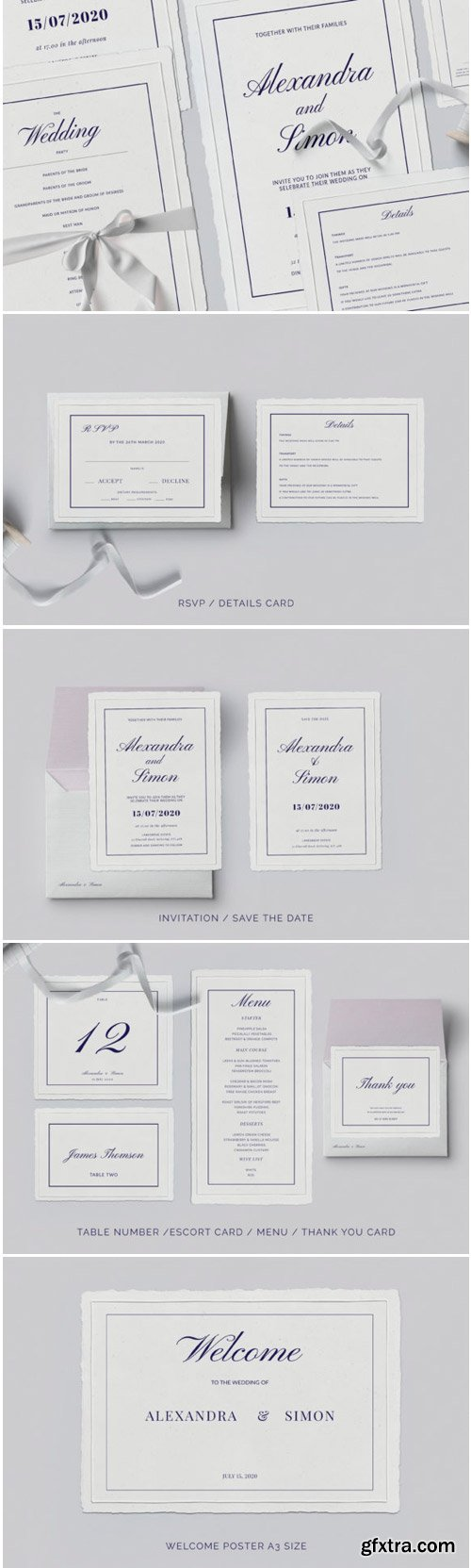 This is an Invitation Wedding Template Suite 1771790