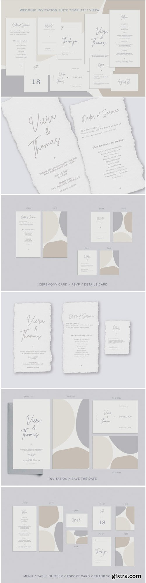 Wedding Invitation Suite Viera 1771819