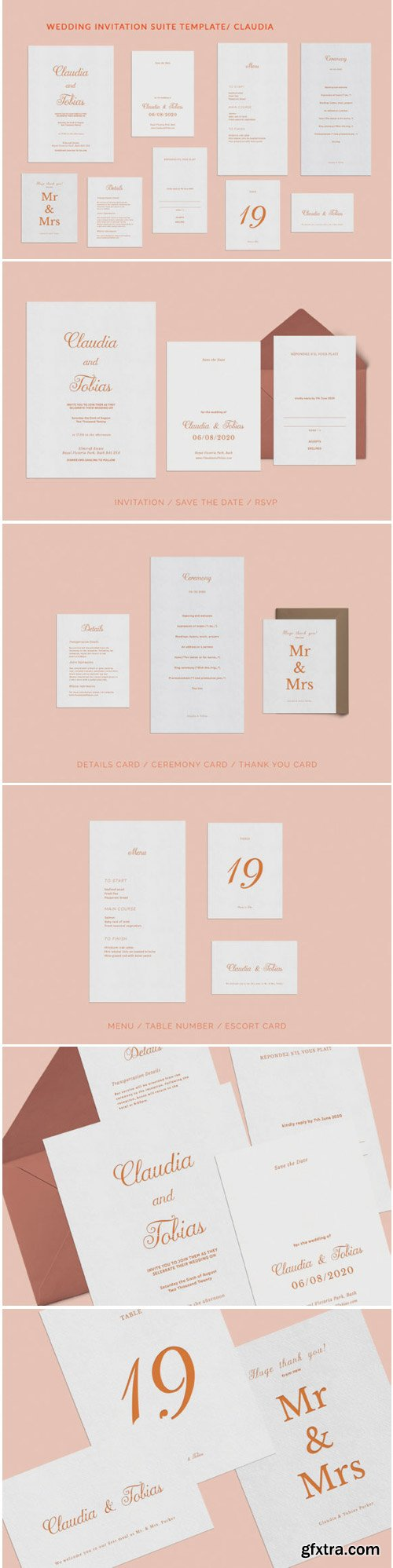 Wedding Invitation Suite Claudia 1771812