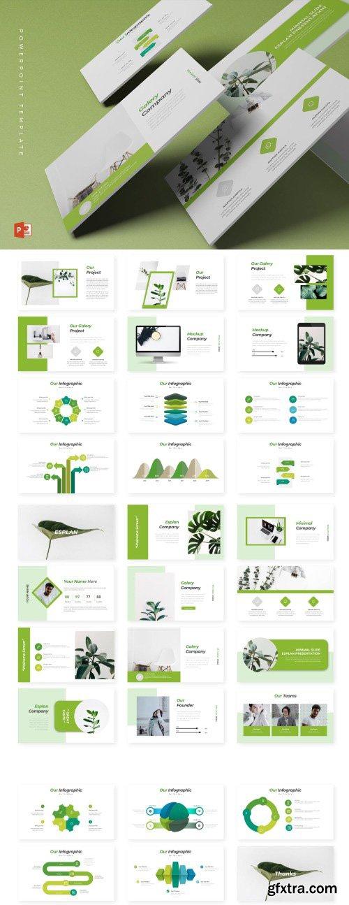 Esplan - Powerpoint Template