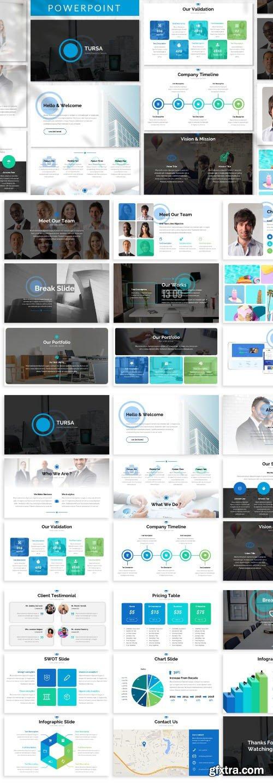 Tursa - Business Powerpoint Template