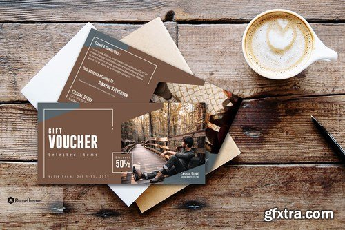 Casual - Fashion Gift Voucher Card