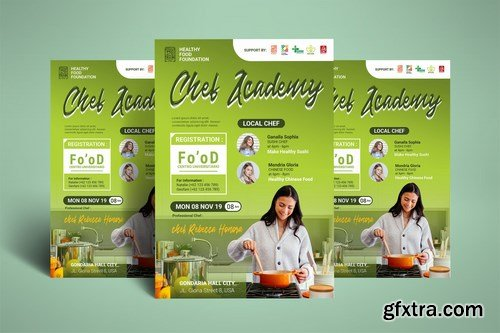 Cooking Class - Chef Course Poster