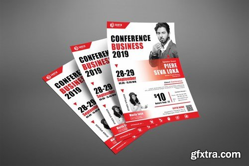 Business Conference Seminar Poster