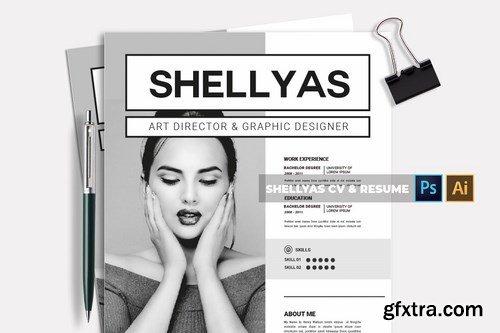 Shellyas CV & Resume