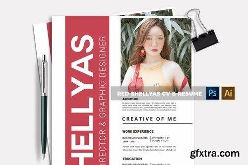 Red Shellyas CV & Resume