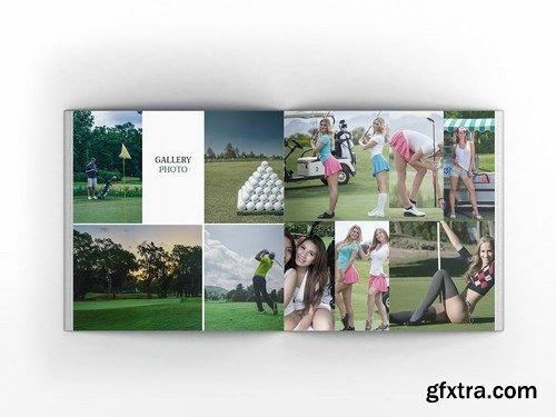 Golf Square Brochure Template