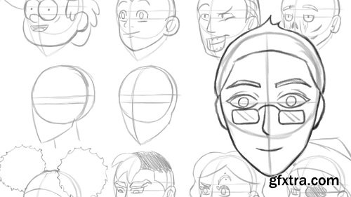 How to Draw Heads/Faces - Beginner Course