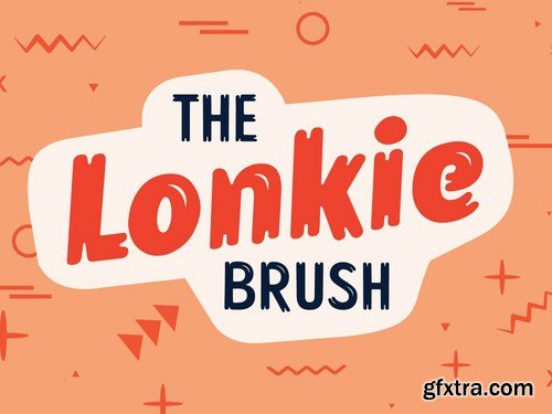 Lonkie Brush Font