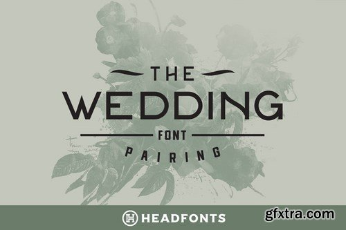 Wedding Font Pairing Font