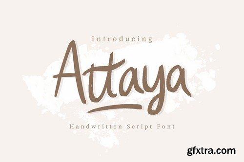 CM - Attaya Handwritten Font 4113303