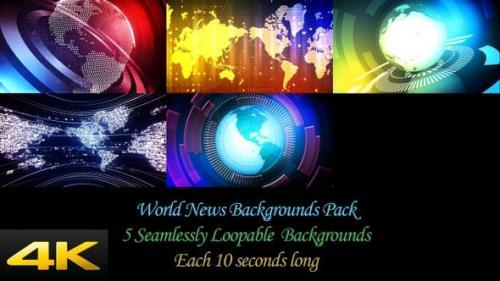 Udemy - World News Backgrounds Pack