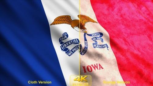 Udemy - Iowa State Flags