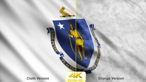 Udemy - Massachusetts State Flags