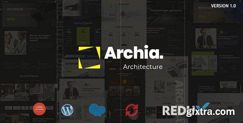 ThemeForest - Archia v1.0.3 - Architecture & Interior WordPress Theme - 23841788