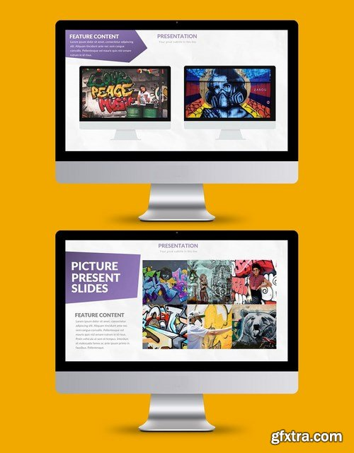 Violet - Powerpoint and Keynote Templates