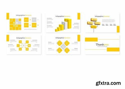 Bananen - Powerpoint Google Slides and Keynote Templates