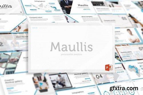 Maullis - Powerpoint Google Slides and Keynote Templates