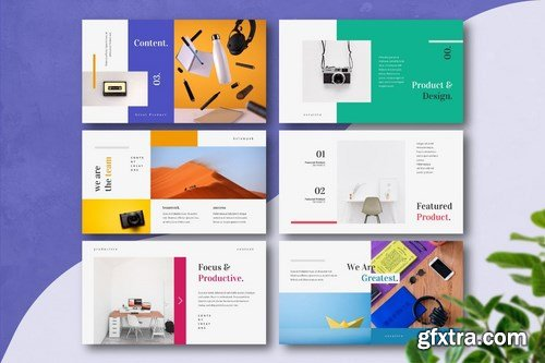 PRODUCTIX - Creative Powerpoint Google Slides and Keynote Templates