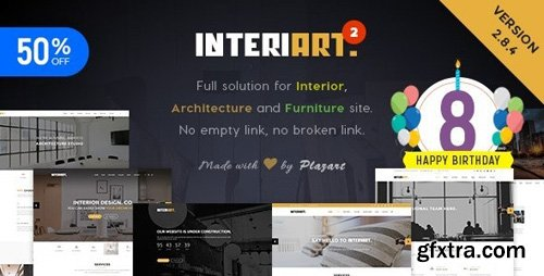 ThemeForest - InteriArt v2.8.5.1 - Furniture & Interior WordPress Theme - 14467105