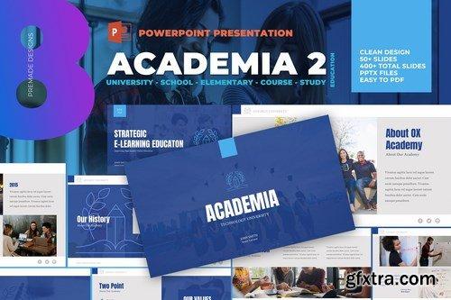 Academia - University School Powerpoint Template