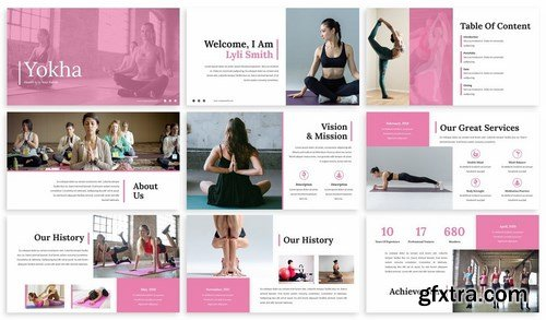 Yokha - Yoga Powerpoint Template