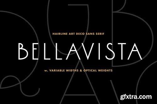 CM - Bellavista - Art deco variable font 4113985