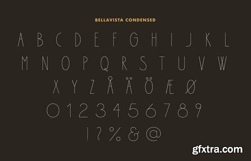 Bellavista Condensed Font