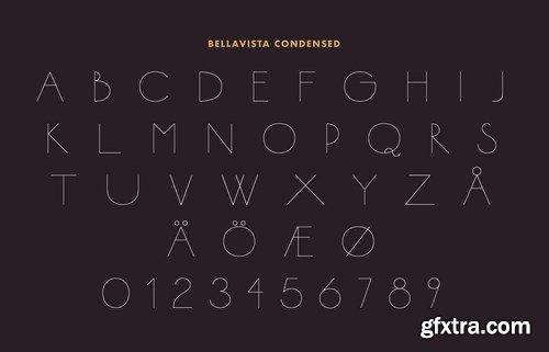 Bellavista Expanded Font