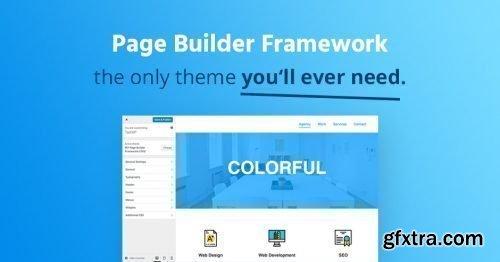 Page Builder Framework Premium Addon v2.1.0.2 + Page Builder Framework v2.0.8.2 - NULLED