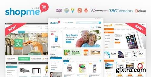ThemeForest - ShopMe v1.4.8 - Multi Vendor Woocommerce WordPress Theme - 12701244 - NULLED