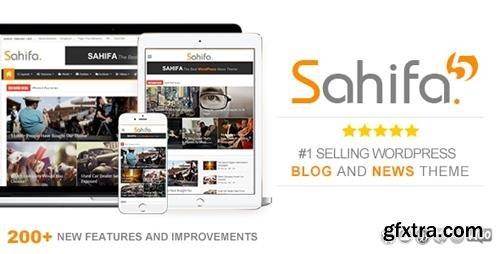 ThemeForest - Sahifa v5.6.15 - Responsive WordPress News / Magazine / Blog Theme - 2819356