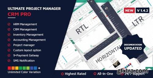 CodeCanyon - Ultimate Project Manager CRM PRO v1.4.2 - 16292398 - NULLED
