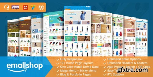 ThemeForest - EmallShop v2.2.4 - Responsive Multipurpose WooCommerce Theme - 18513022 - NULLED
