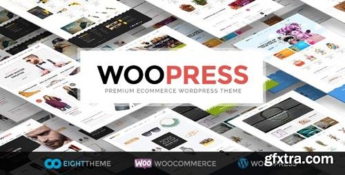 ThemeForest - WooPress v6.0.1 - Responsive Ecommerce WordPress Theme - 9751050 - NULLED