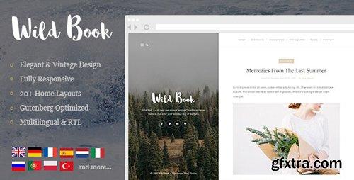 ThemeForest - Wild Book v1.8 - Vintage & Elegant WordPress Blog Theme - 10962274