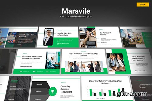 Maravile - Multipurpose Business Powerpoint