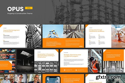 Opus - Property & Construction Powerpoint Template