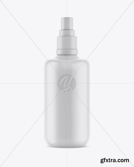 Matte Spray Bottle Mockup 48837