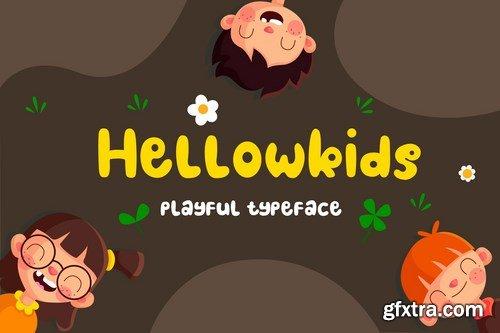 Hellowkids - Fun Children Typeface
