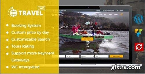 ThemeForest - Tour & Travel WordPress Theme - TravelWP v1.6.2 - 19029758