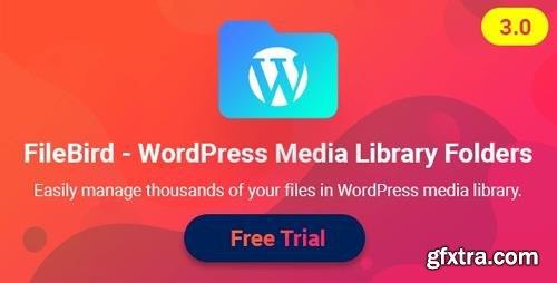 CodeCanyon - FileBird v3.2.2 - WordPress Media Library Folders - 21715379