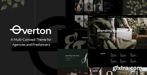 ThemeForest - Overton v1.3 - Creative Theme for Agencies and Freelancers - 22432375