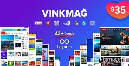 ThemeForest - Vinkmag v2.7 - Multi-concept Creative Newspaper News Magazine WordPress Theme - 23103152
