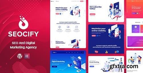 ThemeForest - Seocify v1.9.3 - SEO Digital Marketing Agency WordPress Theme - 22613339