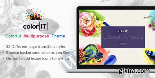 ThemeForest - Color Folio v1.2 - Portfolio WordPress - 18034014