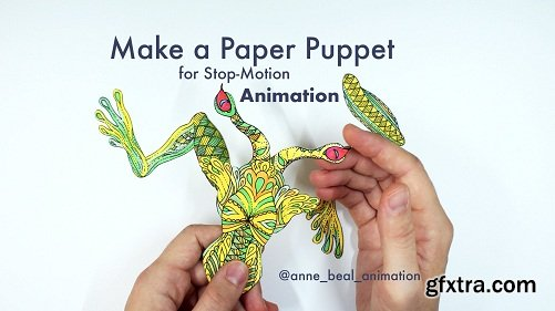 Animation: Make a Paper Puppet for Stop-Motion!